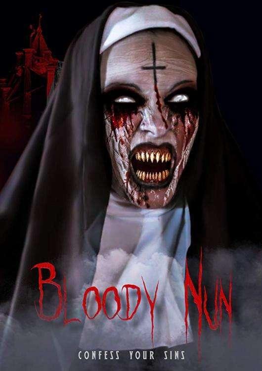Bloody Nun Poster
