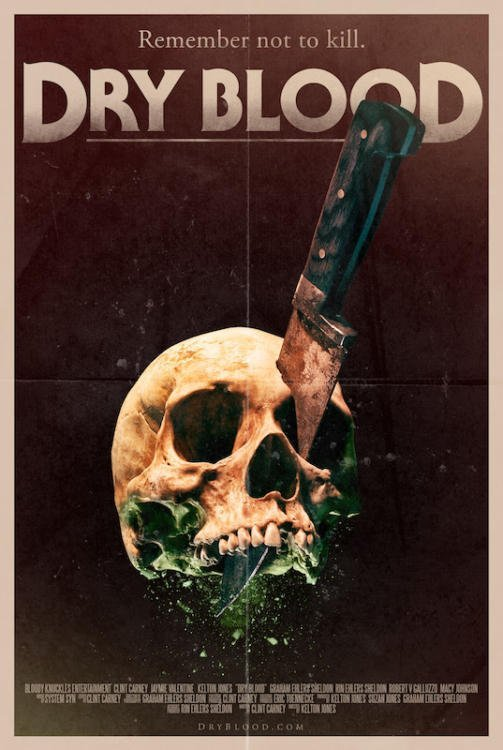 Dry Blood Poster