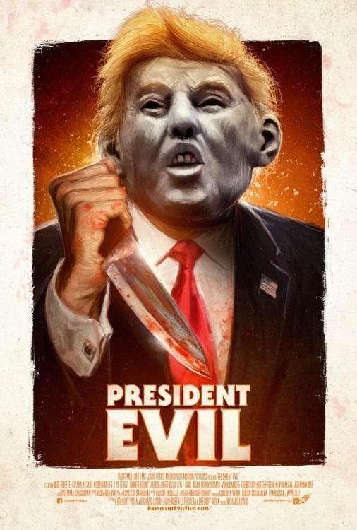 President Evil Key Art