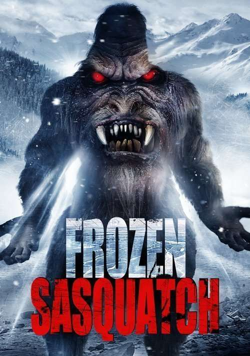 Frozen Sasquatch Poster