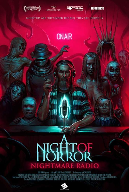 A Night Of Horror Nightmare Radio Poster
